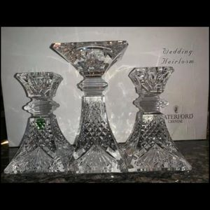 Waterford Crystal Unity Candle set